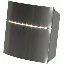 Boîte aux lettres avec éclairage LED