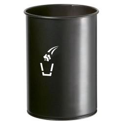 Corbeille pivotante cylindrique 20L