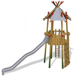 La tour exotique en bois de robinier
