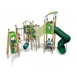 Aire de jeux pour enfants le caméléon