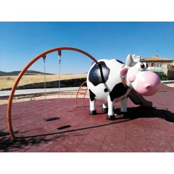 """Structure de jeux """"la vache"""""""