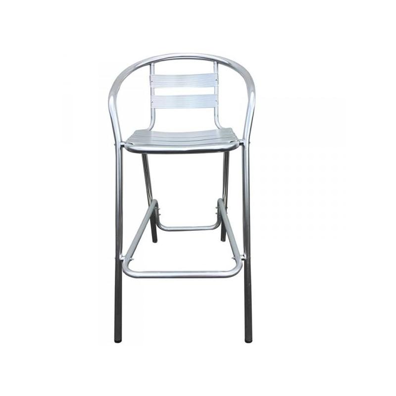 Tabouret de bar aluminium tabouret aluminium chaise - Tabouret de bar pour exterieur ...