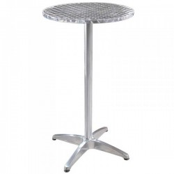 Table mange debout aluminium