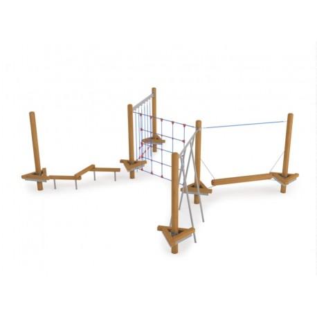 aire de jeux pour enfants et adolescents parcours sportif pour enfant. Black Bedroom Furniture Sets. Home Design Ideas