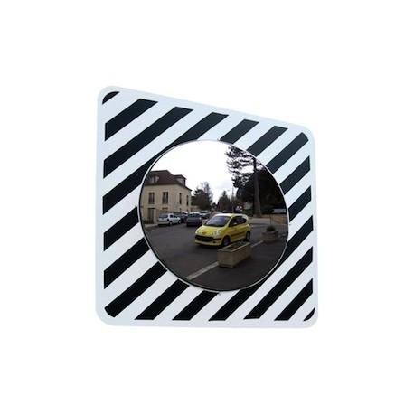 Miroir de circulation inox