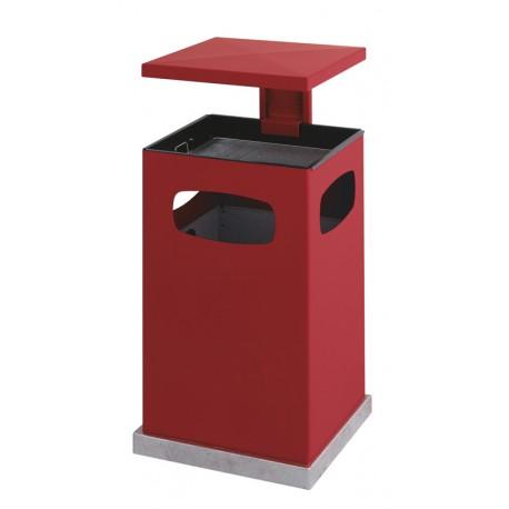 Combiné poubelle-cendrier