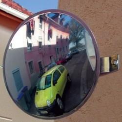Miroir pour parking privé