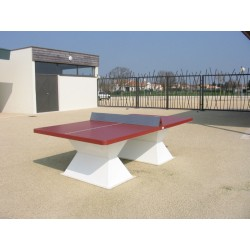 Table ping-pong épaisseur 60 mm en matériaux composites avec couleurs originales