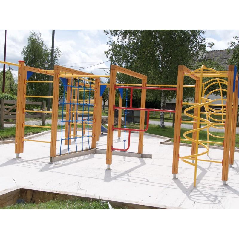Aire de jeux pour enfants et adolescents, Parcours sportif pour enfant