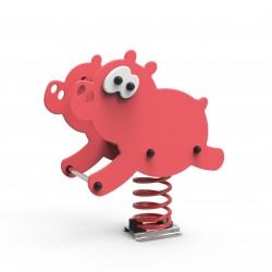 Cochon jeu sur ressort