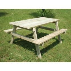Table de pique-nique Rustique
