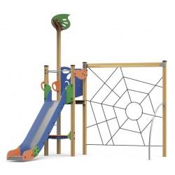 La tour toboggan de l'araignée