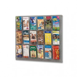 Présentoir mural de brochures