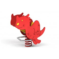 Petit dragon jeu sur ressort