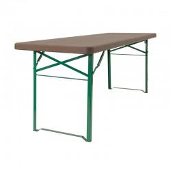 Table pour extérieur / intérieur : 220 x 67 x h 77 cm