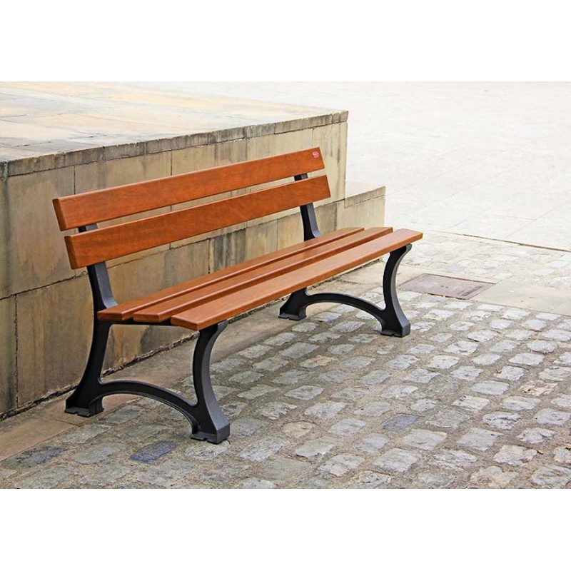 LOT DE 3 BANCS PUBLICS NORMANDIE