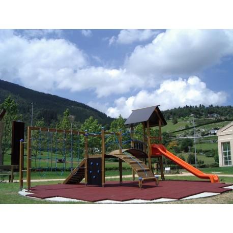 Structure de jeux pour enfants de 3 à 12 ans