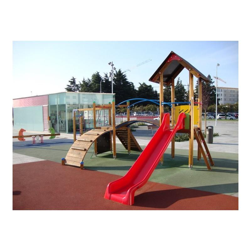 Jeux extérieurs pour espace public, Aires de jeux