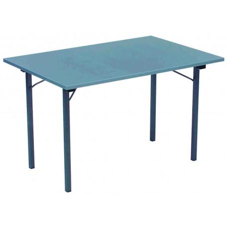 """Lot de 10 tables """"ULTRA"""" 120 x 80 cm avec 4 pieds pliants"""