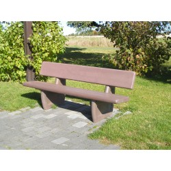 Lot de 5 bancs Norvège