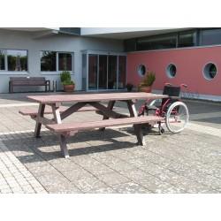 Table pique-nique Villages vacances PMR