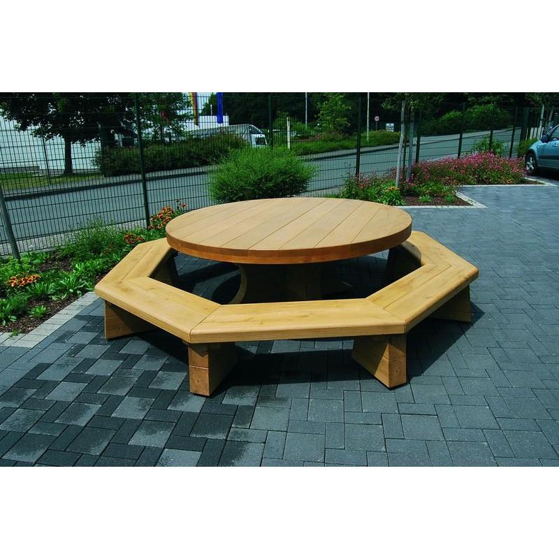 table pique nique foresti re table pique nique en bois de. Black Bedroom Furniture Sets. Home Design Ideas