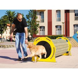Tunnel parcours d'agility