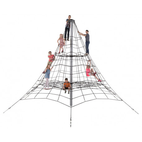Pyramide de cordes pour collectivité