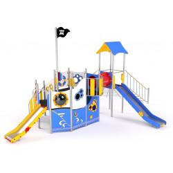 Grand bateau des pirates pour enfants de 3 à 14 ans