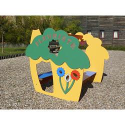 Cabane FLEURISTE (pour enfants de 1 à 4 ans)
