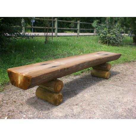 Banquette en bois massif