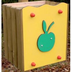 Corbeille pomme pour école maternelle