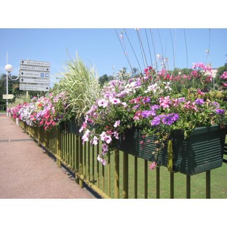 Jardinière pour barrière de ville