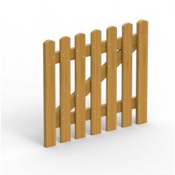 Portillon de barrière de sécurité pour aires de jeux