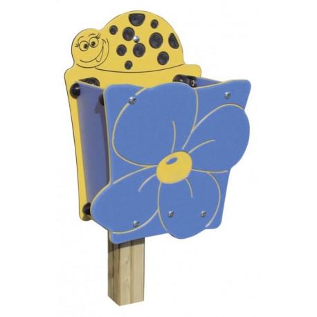 Poubelle fleur