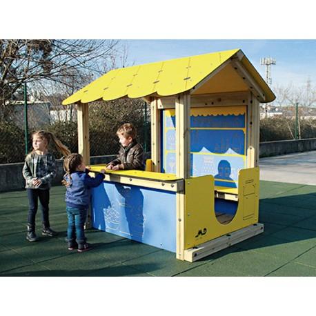 Maisonnette boutique pour enfants