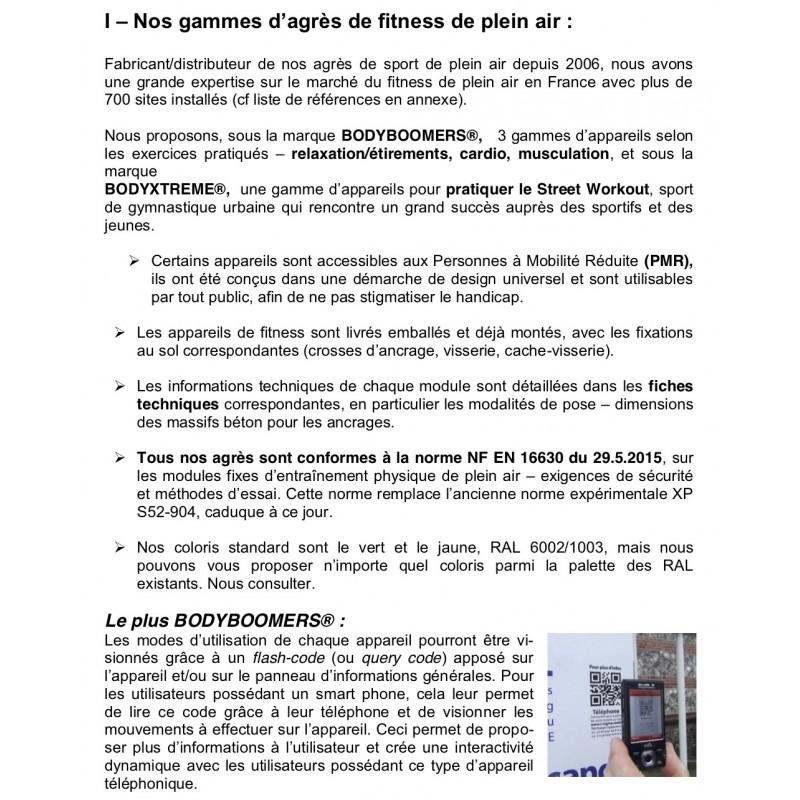 Appareils De Fitness Extérieurs Modules De Fitness De Plein Air Pmr