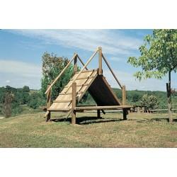 Jeu hutte à grimper (pour les enfants de 6 à 12 ans)