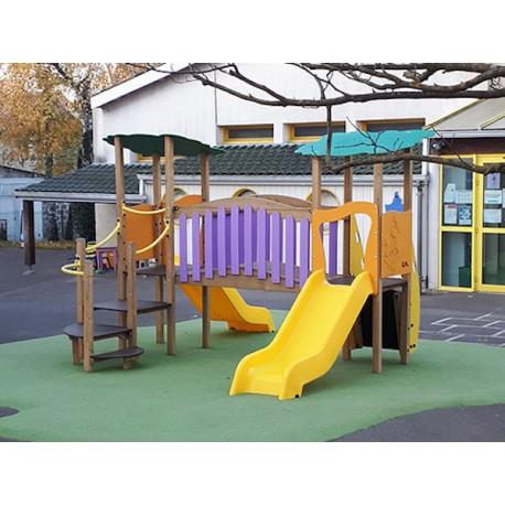 Aire De Jeux Pour Enfants De 1 A 6 Ans Jeux Exterieurs Pour Ecole