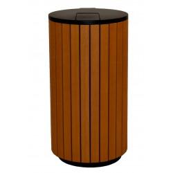 Corbeille bois design 90 litres