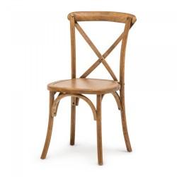 Chaise en bois robuste