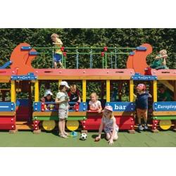 EUROPLAY EXPRESS -Train moderne - aire de jeux pour les collectivités