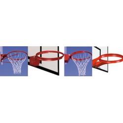 Paire de cercles de panier de basket