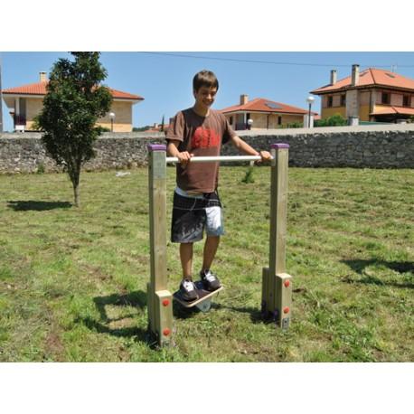 Equilibre des hanches