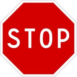 Panneaux routier STOP - type AB4