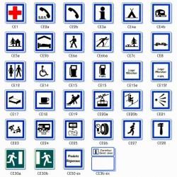 Signalisation de services Type C