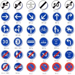 Signalisation Type B - Obligation - Stationnement