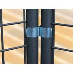Clips de liaison pour les grilles pour grilles d'exposition