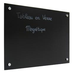 Tableau magnétique en verre Securit