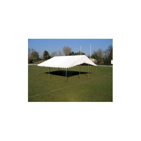 Barnum, tente de réception SUPER PLEIN AIR 8x8 complète - 64 m²